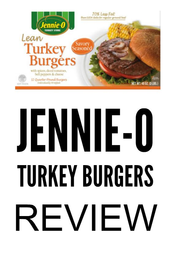 jennie o turkey burgers