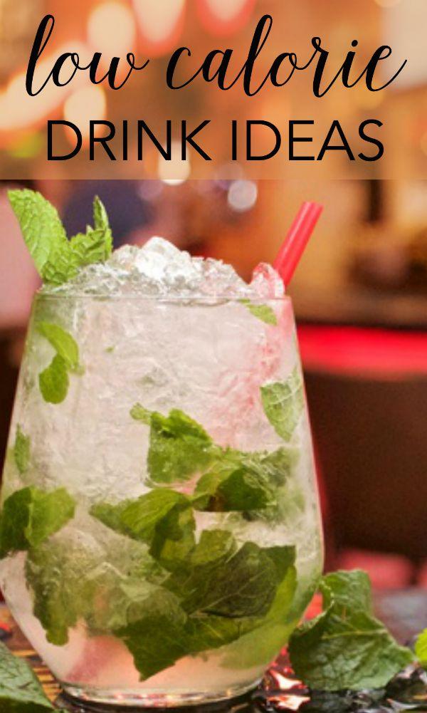 low calorie drink ideas