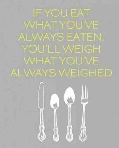 weight loss motivation quote - always weighed