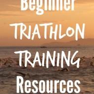 Beginner Triathlon Training Resources