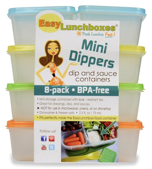 easy lunchboxes mini dippers
