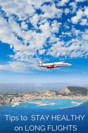 tips to stay healthy on long flights