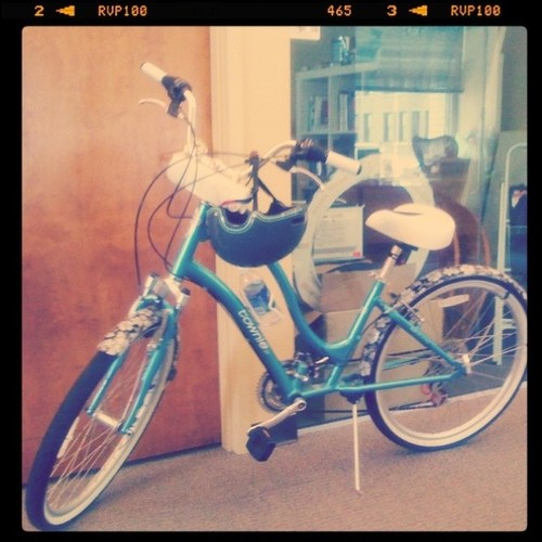 Bike at the office