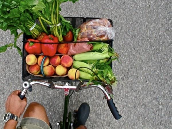 Bike groceries