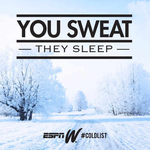 Espn motivation cold