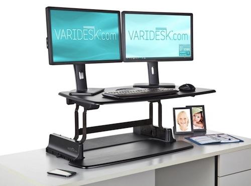 standing desk - varidesk pro