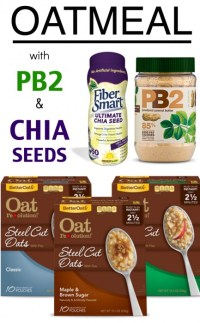 oatmeal with pb2 and chia seeds recipe