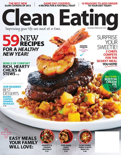 healthy magazine - clean eating magazine
