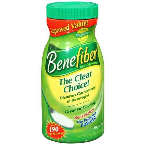 benefiber fiber supplement
