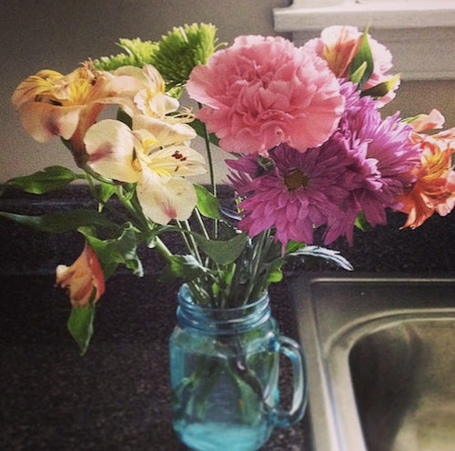 flowers for new house