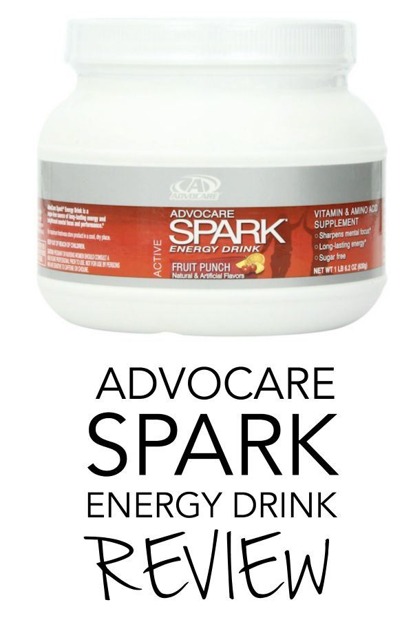 advocare spark energey drink review