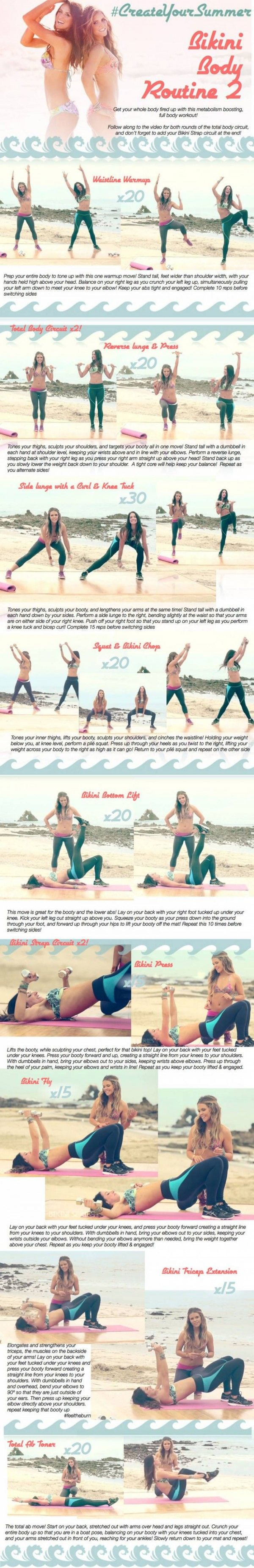 tone it up girls summer workout