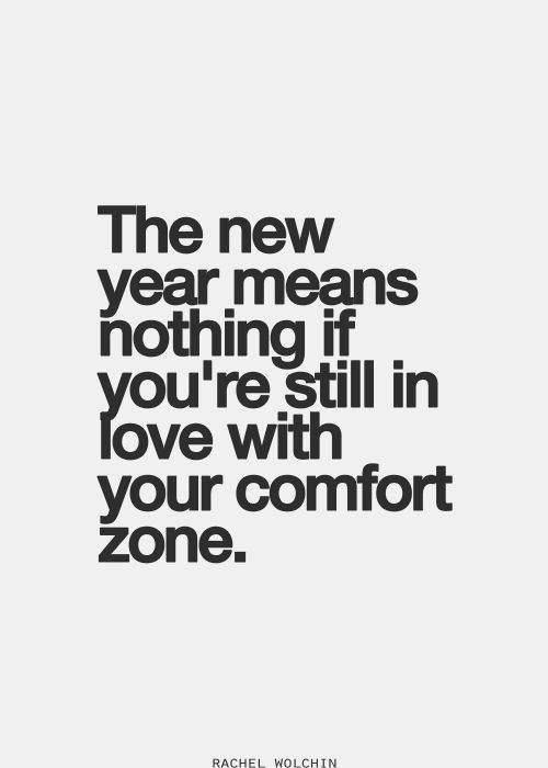 inspiring new years resolutions - new year new comfort zone