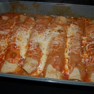 Spinach & Turkey Enchiladas Recipe