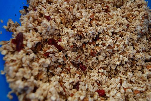healthy recipes - nutty granola recipe
