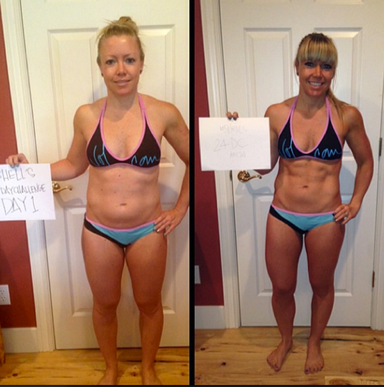 advocare 24 day challenge before after
