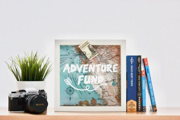 adventure fund travel piggy bank for adults