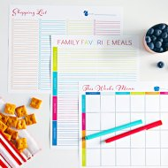 Meal Planning Rocks – The Benefits of Meal Planning