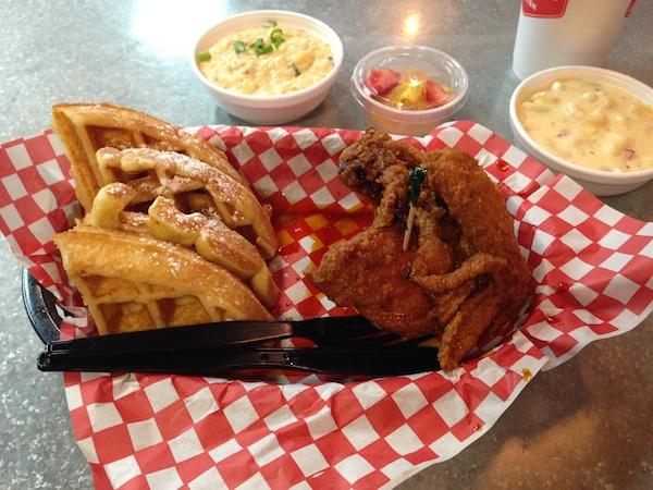 nashville trip recap hot chicken and waffles at hattie b's hot chicken