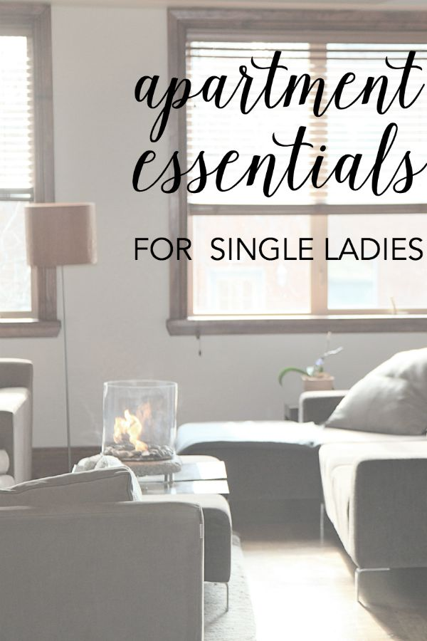 Apartment Essentials For Single Ladies  A Merry Life