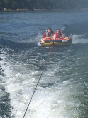 tubing on lake ouachita
