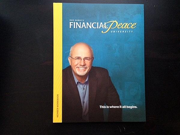 Financial Peace University Week 1