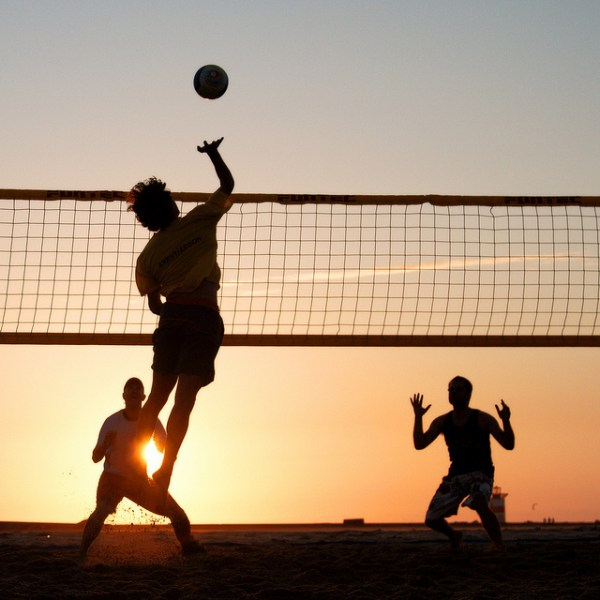 volleyball for fun