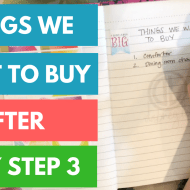 10 Things I Want To Buy After Baby Step 3 | Financial Goals