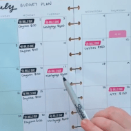 July 2018 Monthly Budget Plan With Me