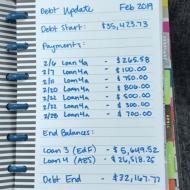 Debt Snowball Update – February 2019