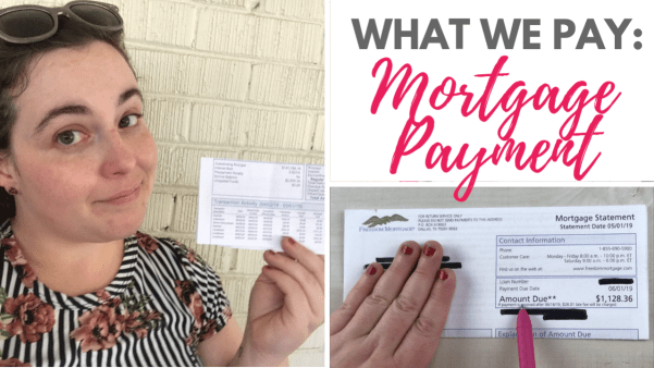 what we pay on our mortgage statement