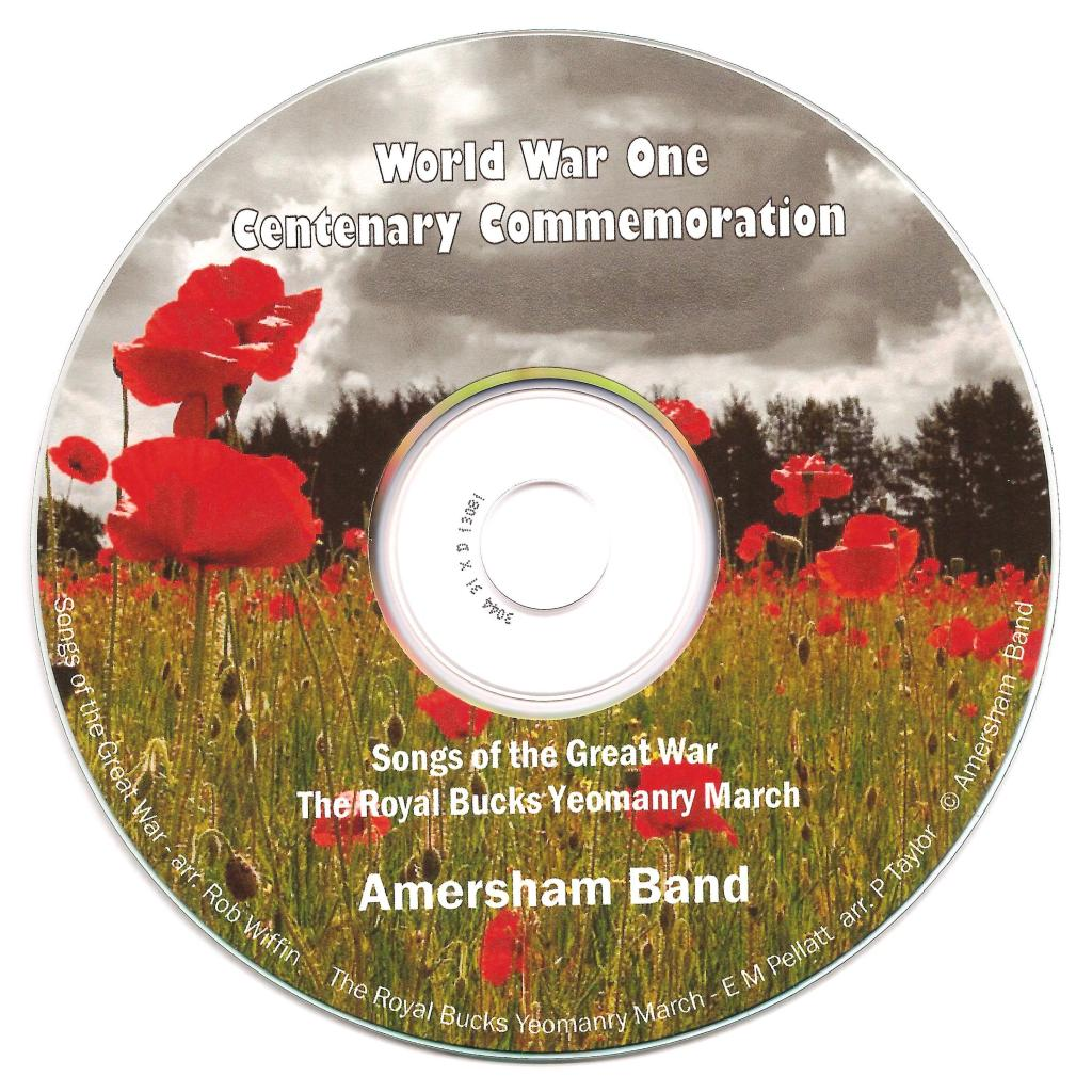 WWI CD label scan