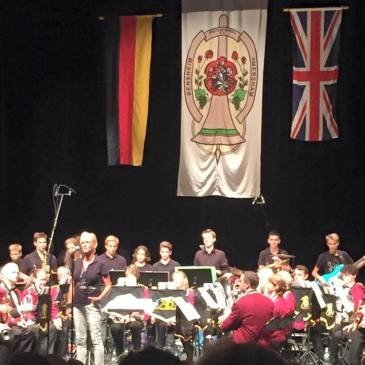 Band puts aside Brexit during visit to Bensheim