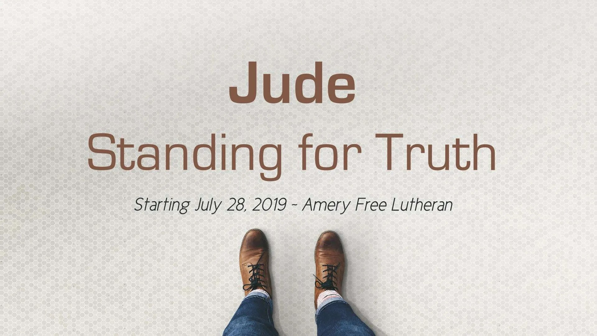 Sermons - Amery Free Lutheran