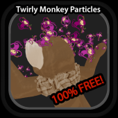 Twirly Monkey Particles
