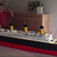 Titanic Lego Set Recreation Is Amazing Until You Find Out The Time, Money Involved