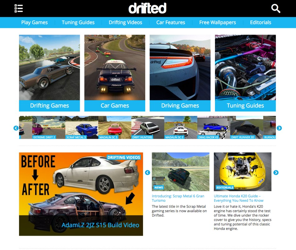 Drifted.com Free Car Games