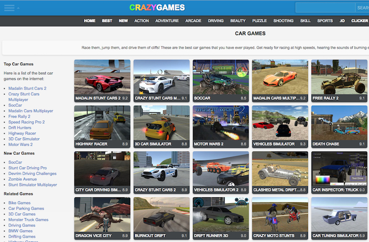 Crazy-Games-Free-Online-Racing-Games