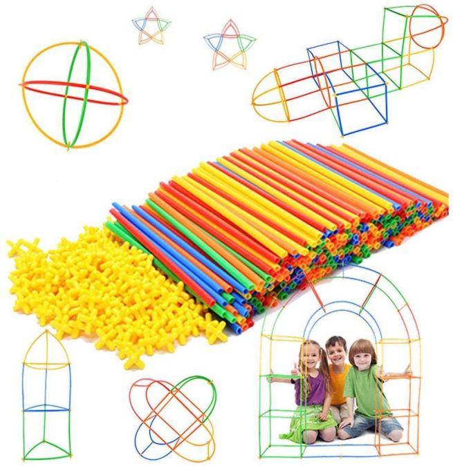 Straw Constuctor Set