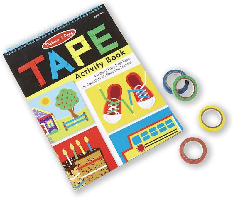 Melissa and Doug Duct Tape Activity Book