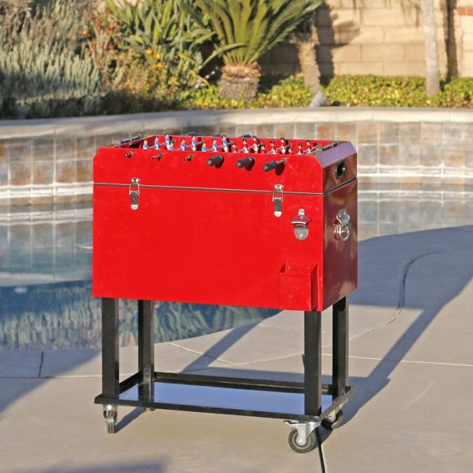 Foosball Tabletop Cooler 2