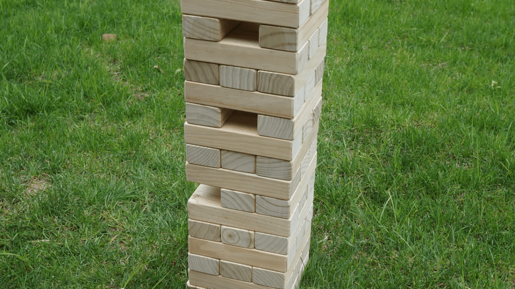 Giant Wooden Tumbling Timbers