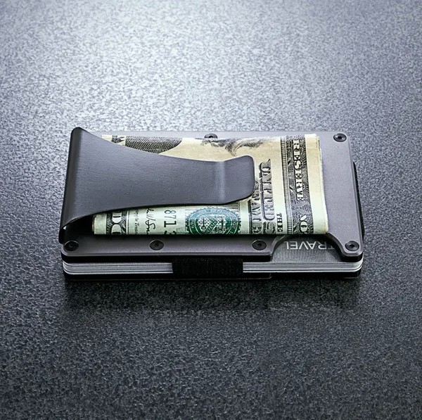 The Ridge Aluminum Wallet + Money Clip 1