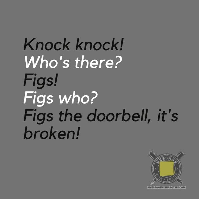 funny kid's knock-knock joke #4