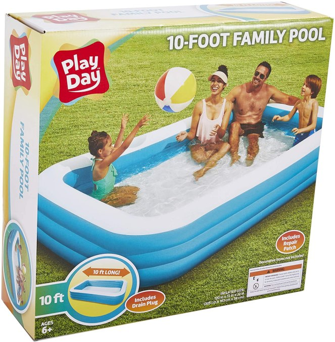 Play Day 10 Foot Swimming Pool