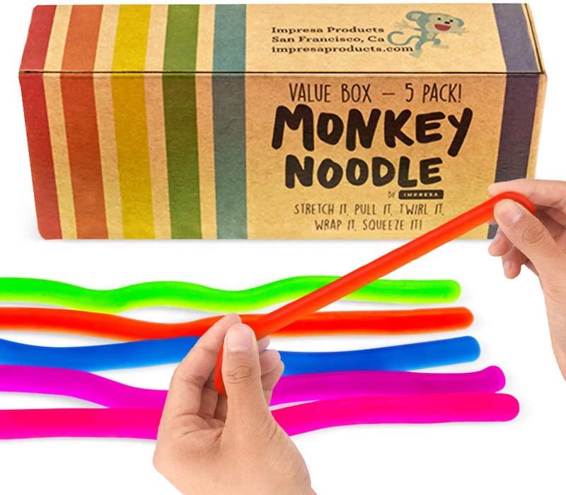 Monkey Noode Stretchy String Fidget Sensory Toys.