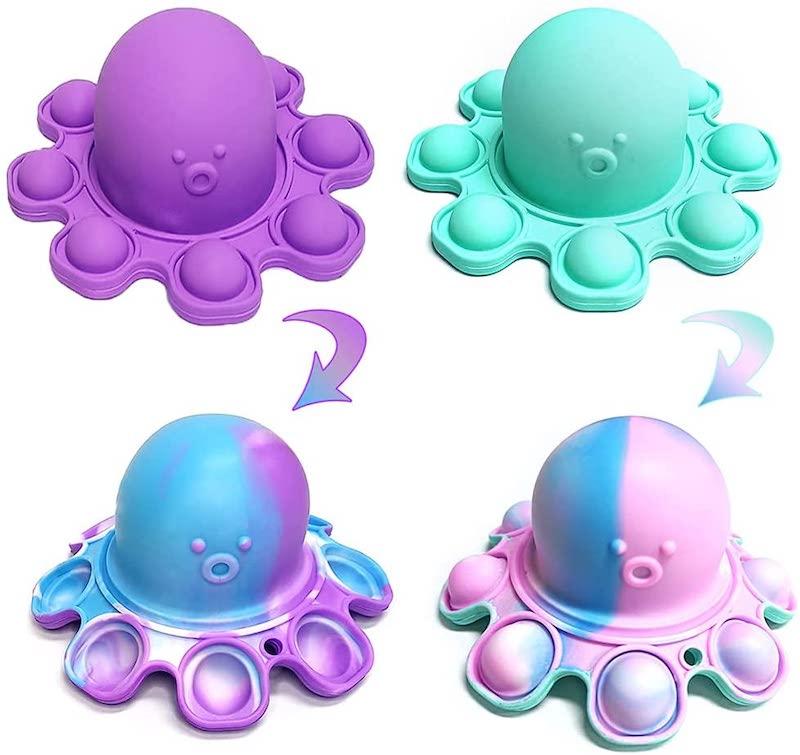 Octopus Reversible Sensory Fidget Toy For Kids.