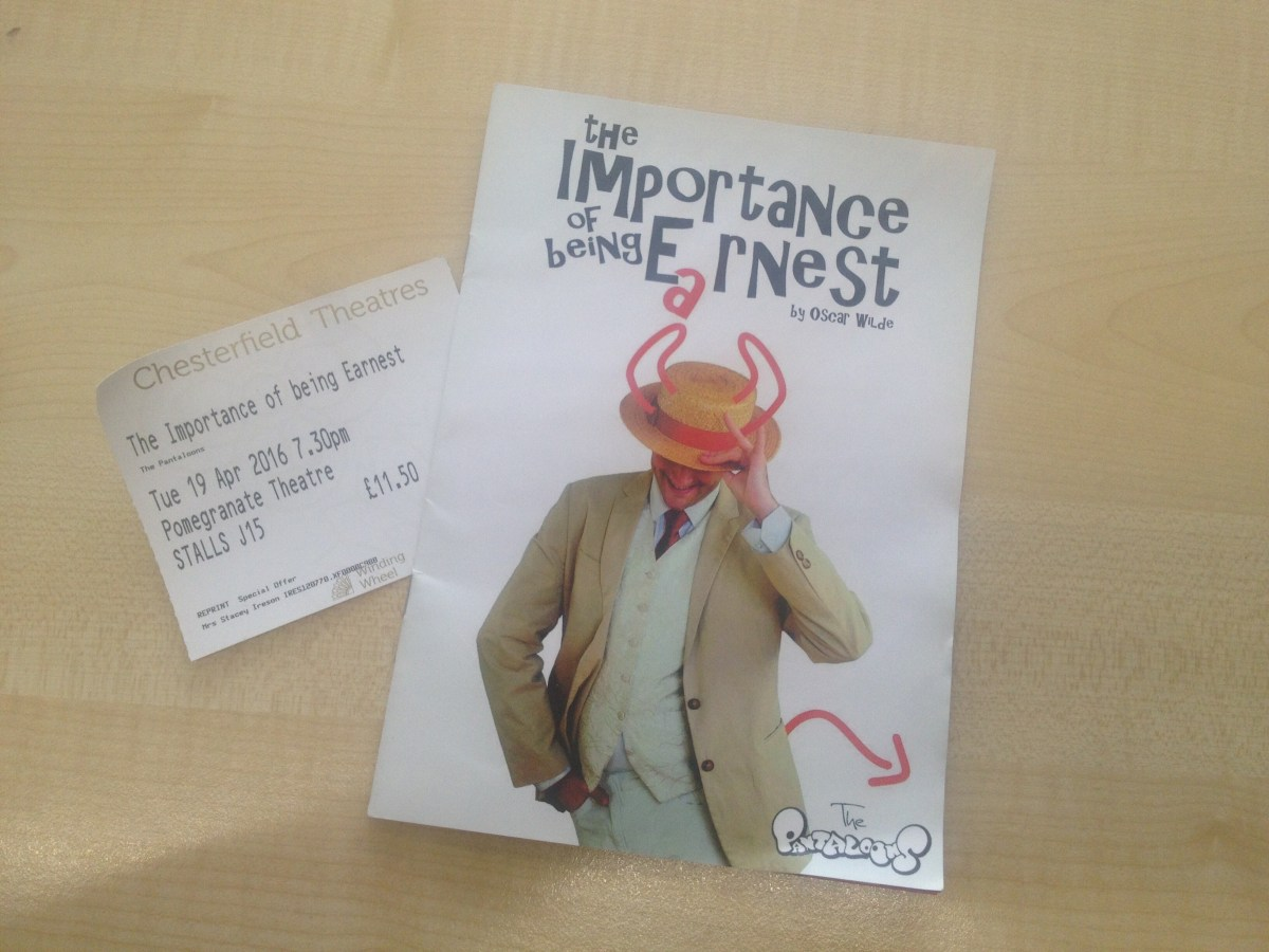 "Review: The Pantaloons ""Importance of Being Earnest"""