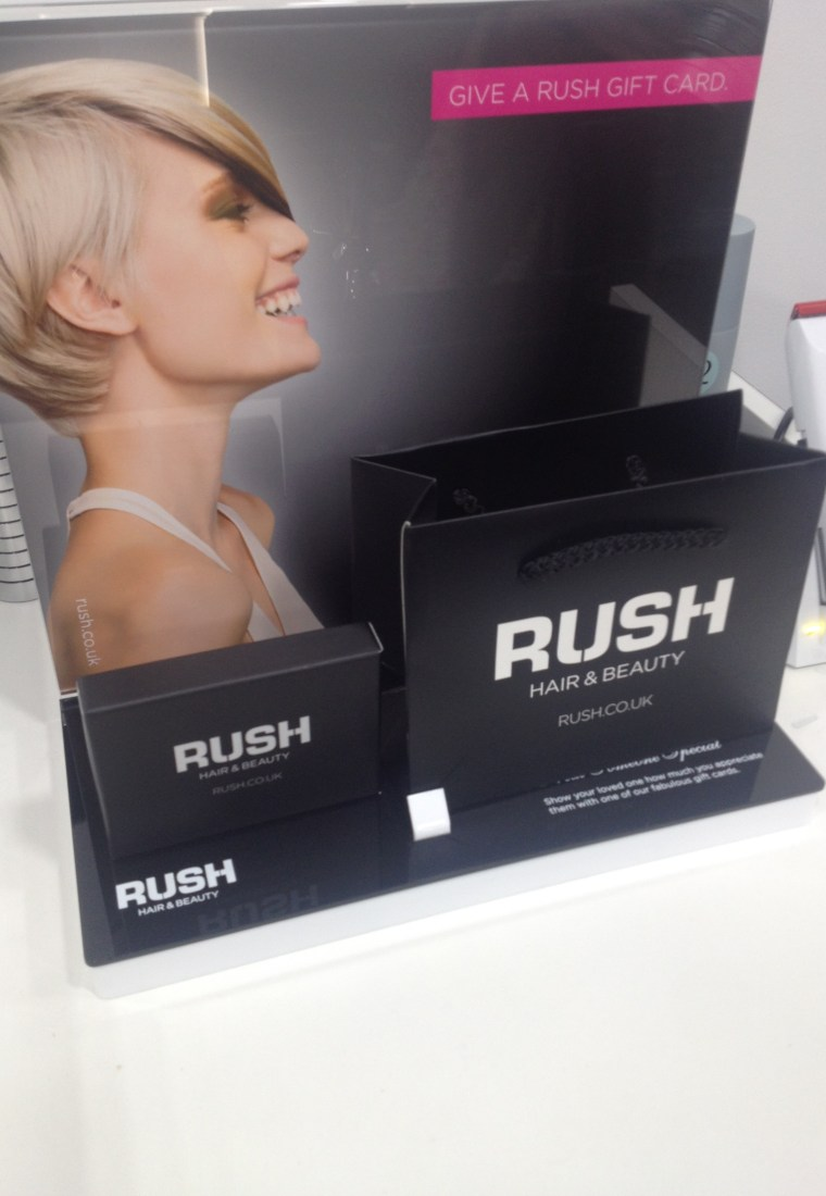 The RUSH Hair and Beauty Nottingham Launch Event