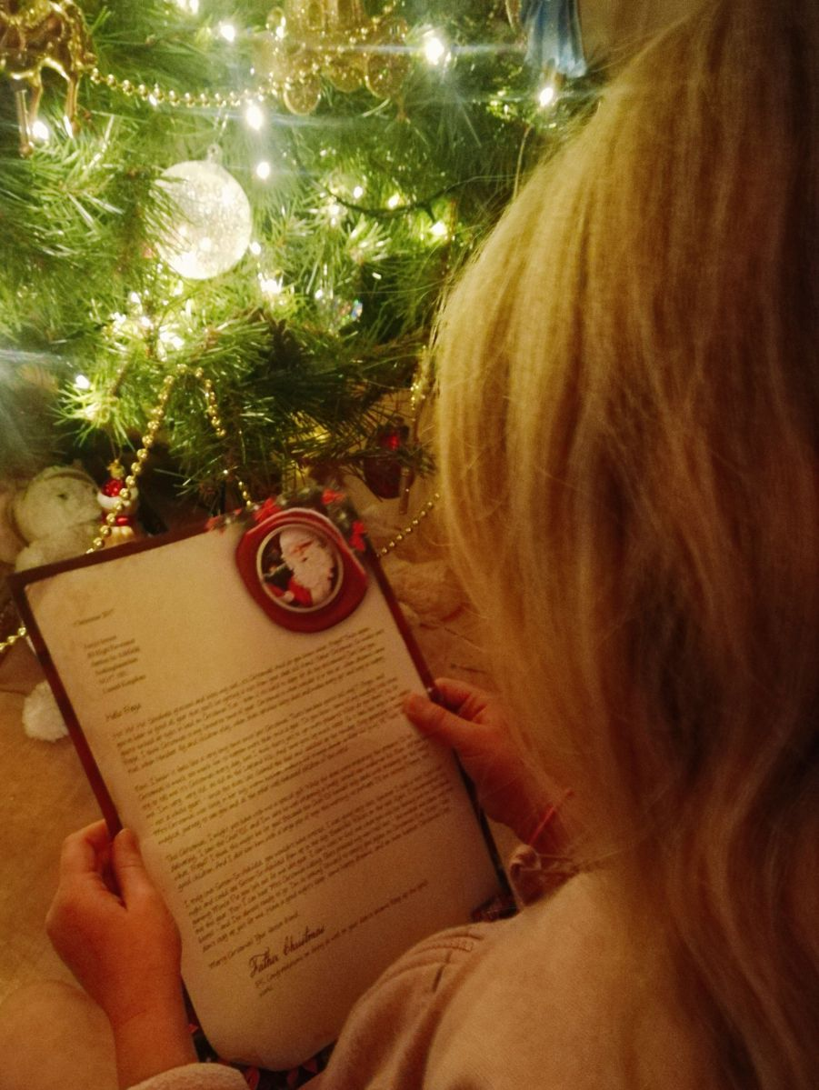 *Countdown to Christmas || Letters from Father Christmas*